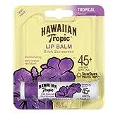 Hawaiian Tropic Moisturizing Lip Balm Sunscreen, Tropical 0.14 oz (4 g)