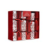 Debenhams Set Of 12 Red Berry Print Luxury Christmas Crackers