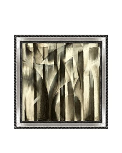 Clive Watts A Charcoal Study For An Abstract Composition Framed Print On Canvas, Multi, 28.75″ x 28.75″