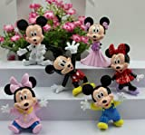 Mickey Minnie Disney Character Figure Display Cake Topper Decor Toy Decorations