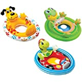 Intex Inflatable See Me Sit Pool Ride for Age 3-4 (Colors/Styles Vary)