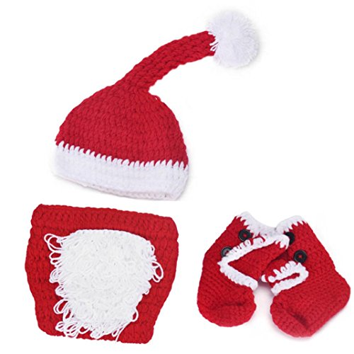Voberry® Newborn Girls Boys Knit Costume Photography Prop Outfits Gift