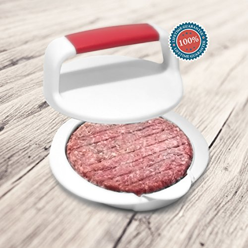Vitabliss Ultimate Burger Pack - Including Burger Press, Grill Mats and Stack of Wax Papers (Circle Grill Press compare prices)