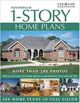 Most Popular 1 Story Home Plans Editors Of Creative