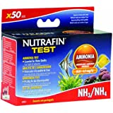 Nutrafin A7855 Ammonia Test 0.0 to 6.1 Mg/L for Fresh and Saltwater, 50-Tests