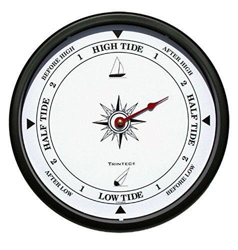 Trintec Atlantic Tide Indicator Wall Clock 10″ (White Dial) ATW-01