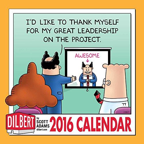 Dilbert 2016 Wall Calendar
