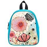 Fancy Colorful Dandelion Soft PU Backpack School Bag