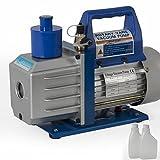 1Stage 1/2HP Rotary Vane 5CFM Vacuum Pump R410a R134a Refrigerant HVAC AC Freon