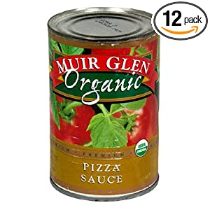 review Muir Glen Organic Pizza Sauce, 15-Ounce Cans (Pack of 12)