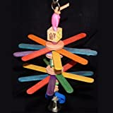 Popsicle Parakeet / Lovebird Bird Toy (Freshman)