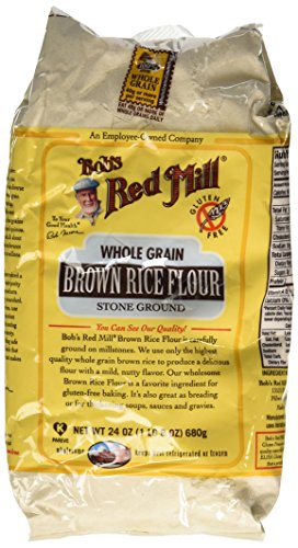 One 24 oz Bob's Red Mill Whole Grain Brown Rice Flour (Flour Brown Rice compare prices)