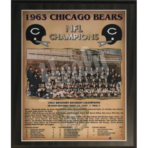Bears NFL Football World Championship 11x13 Plaque : Sports & Outdoors