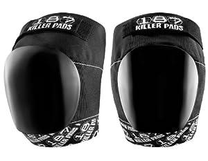 187 Killer Pro Knee Pads - Black White by 187 Killer