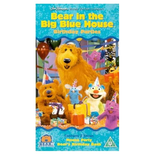 Bear In The Big Blue House: Birthday Parties [VHS]: Noel