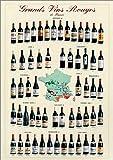 フランス産赤ワイン [ポスター]