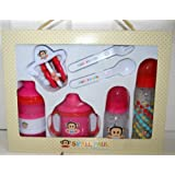 Paul Frank Small Paul By Paul Frank 7-Piece Feeding Gift Set - Pink