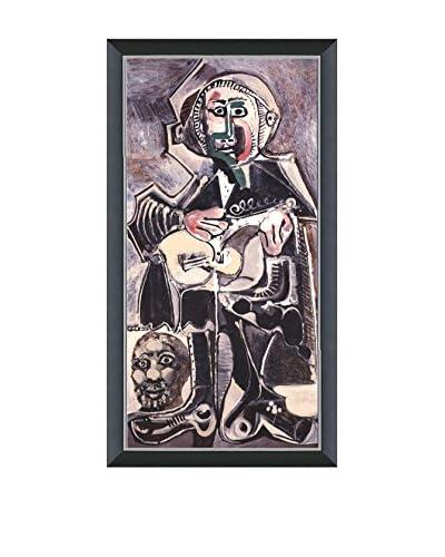 Art Source Pablo Picasso The Guitarist 2007, Multi, 29 x 14.25