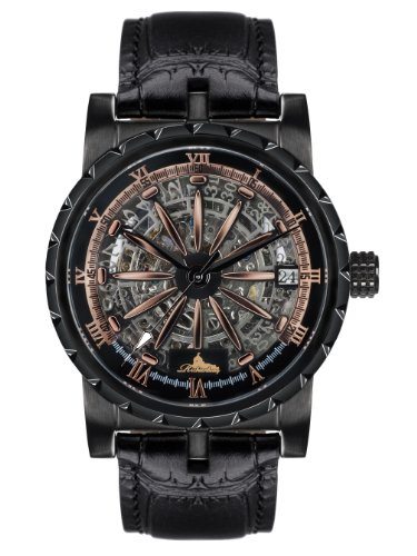 Richtenburg Gents Watch Arkadius Rosé black IP R10400