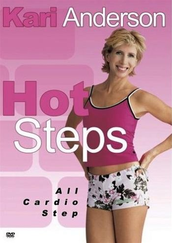 Kari Anderson Hot Steps Cardio Step Workout DVD - Region 0 Worldwide