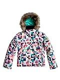Roxy Jet Ski Girl Jk Alcantara Girls' Snowboarding Jacket h coral ax prim Size:16 JAHRE