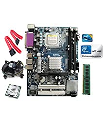 Intel Core 2 Duo E8400 3.0 GHZ + Intel G41 Motherboard + 2 GB DDR3 RAM