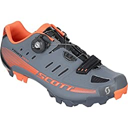 Scott MTB Team BOA Shoes - Men\'s Grey/Black Gloss, 45.0
