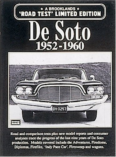 De Soto: 1952-1960 (Limited Edition) (Classic Car Soto compare prices)