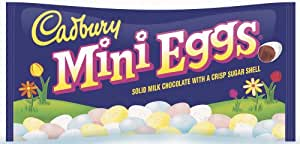 Cadbury Easter Candy Coated Mini Eggs, 10-Ounce Packages (Pack of 4)