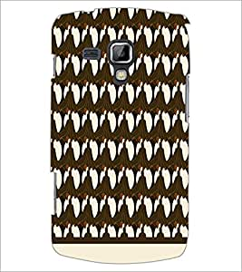PrintDhaba Pattern D-1515 Back Case Cover for SAMSUNG GALAXY S DUOS S7562 (Multi-Coloured)