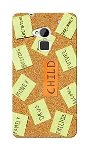 CimaCase Child Designer 3D Printed Case Cover For HTC One Max