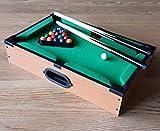 Mini Billardtisch Holz Tischbillard Mini Billard Billiard Tisch mit Kugeln