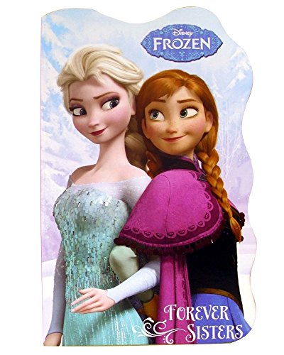 Disney Frozen Forever Sisters Board Book (Anna & Elsa) - 1