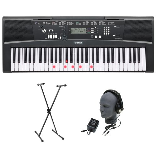 Yamaha EZ-220 61-Lighted Key Premium Portable Keyb