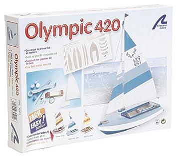 Maquette en bois - Olympic 420 : Facile