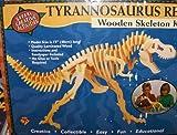 T-rex Tyrannosaurus Wood Skeleton Model Kit