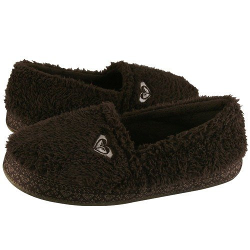 Cheap Roxy Gingerbread Brown Juniors Slipper (B004094TLS)