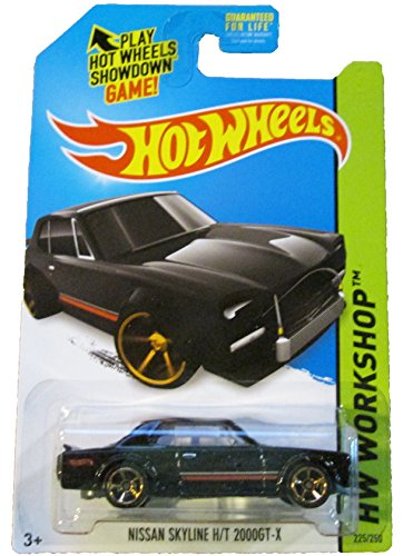 2014 Hot Wheels HW Workshop Nissan Skyline H/T 200GT-X #225/250
