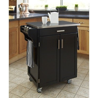 Home Styles 9001-0042 Small Cabinet Kitchen Cart