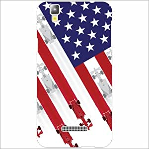 Yureka Plus Back Cover - American Flag Designer Cases