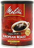 Melitta European Roast Extra Dark Ground Coffee, 10.5-Ounce Cans (Pack of 4)