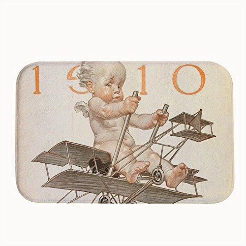 """rioengnakg Funny Baby Tappeto Zerbino Ingresso Tappeto Tappetini per esterno anteriore porte Entrata Carpet, 20"""" x 32""""(50 x 80cm)"""