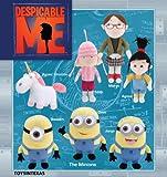 "9""-14"" Despicable Me Movie Plush set of 7"