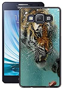 ColourCraft Hunting Tiger Design Back Case Cover for SAMSUNG GALAXY A5 A500F