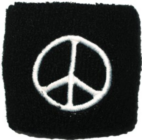 Licenses Products Peace Sign Sweatband