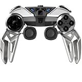 Mad Catz L.Y.N.X.9 Mobile Hybrid Controller with Bluetooth Technology for Android Smartphones, Tablets and PC - Gloss White (Color: Gloss White)