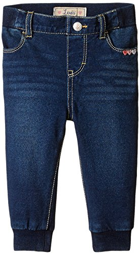 Levi's Baby Girls' Sweetheart Knit Jogger Indigo Night, Indigo Night, 24 Months