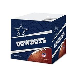 Amazon.com: Dallas Cowboys 2.75-Inch Sticky Note Cube, 550