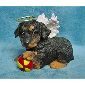 Angel Rottweiler Rottie Christmas Ornament