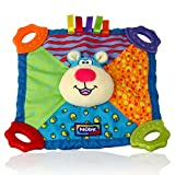 Nuby Art. 6568 Teething Blankie Toy - Bear